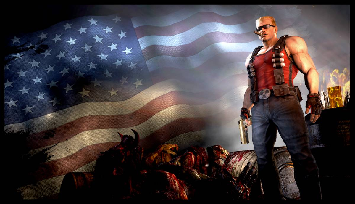 Duke Nukem Forever is bloody stupid.